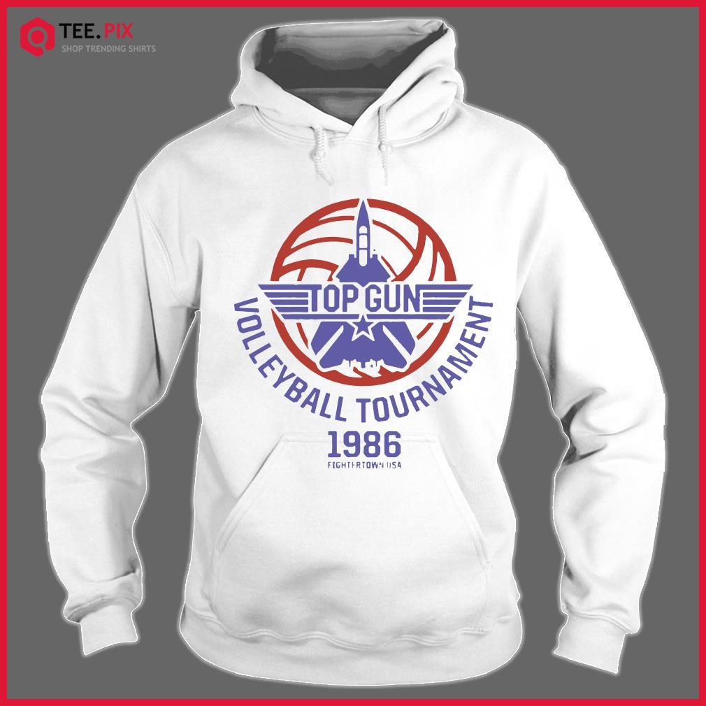 Top Gun Volleyball Tournament 1986 Fightertown Usa Shirt Hoodie